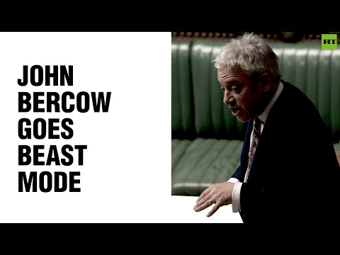 Bercow goes beast mode