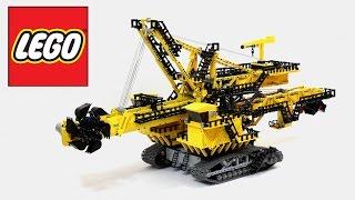 Lego Technic Bucket Wheel Excavator (not a 42055 set) / Лего Техник Роторный Экскаватор ЭР-1250