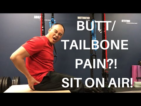BUTT/TAILBONE PAIN?! SIT ON AIR! THERM-A-REST CAMP/TRAIL SEAT REVIEW!