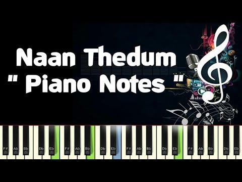 Naan Thedum (ilayaraja) Dharma Patthini, Piano Notes, Midi File, Music Sheet