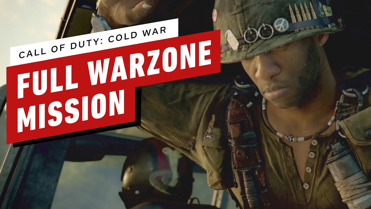 Call Of Duty Black Ops Cold War Full Warzone Mission Gameplay Youtube