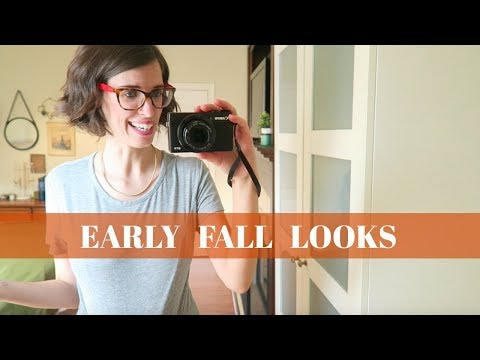 WHAT I WORE #3 | Thrifted Stay at Home Mom Style for Early Fall