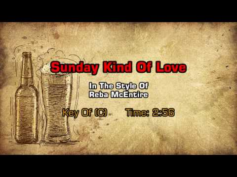 Reba McEntire - A Sunday Kind Of Love (Backing Track)