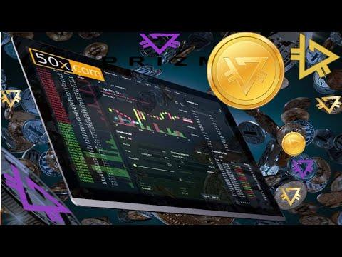 PRIZM на бирже 50X.com Преимущества