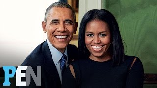 The Obamas Reveal Time In The White House Has 'Definitely Brought Us Closer Together' | PEN | People
