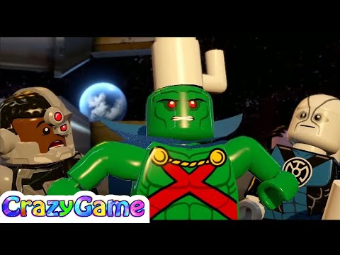 #LEGO #Batman 3 Episode 15 - Batman, Wonder Woman, The Flash, Robin vs Superman, Brainiac
