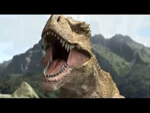 Как выглядят динозавры видео