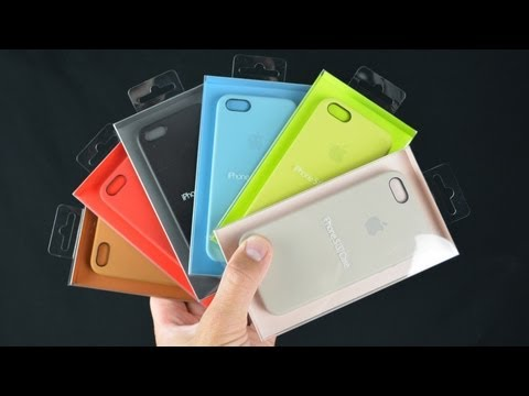 separation shoes 48d07 1b5f8 iPhone 5s leather case by Apple review - YouTube