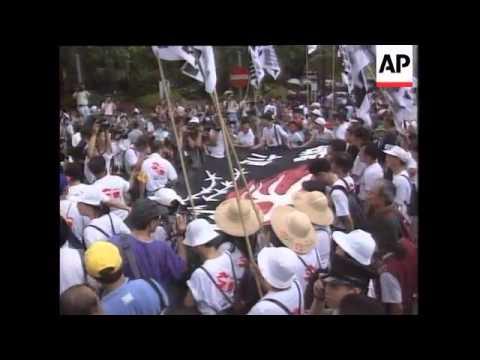 Hong Kong - Tiananmen Memorial Rally