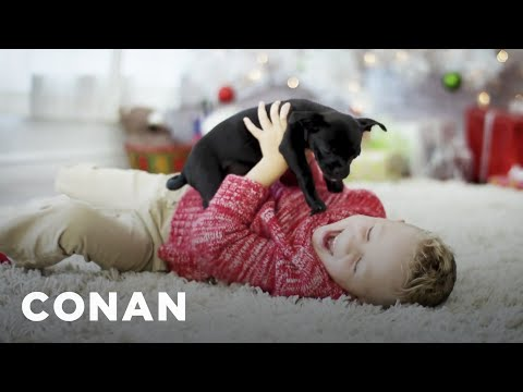 What Service Is This Holiday Ad Promoting?  - CONAN on TBS