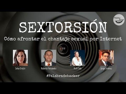Sextorsión ¿Cómo afrontar el chantaje sexual por Internet?