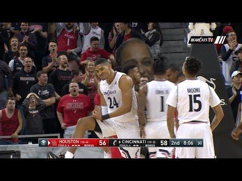 Men's Basketball Highlights: Cincinnati 80, Houston 70 (Courtesy CBS Sports Network)