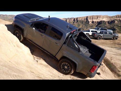 Colorado vs jeep,  fj cruiser, tacoma, 4Runner, Ford Raptor. KEEP IT DIRTY Season 2 episode 1