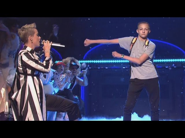 Meet the Dancing Backpack Kid Who Stole Katy Perrys Spotlight on SNL