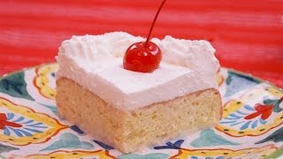 Tres Leches Cake Recipe: How To Make Tres Leches Cake: From Scratch: Di Kometa: Dishin With Di # 137