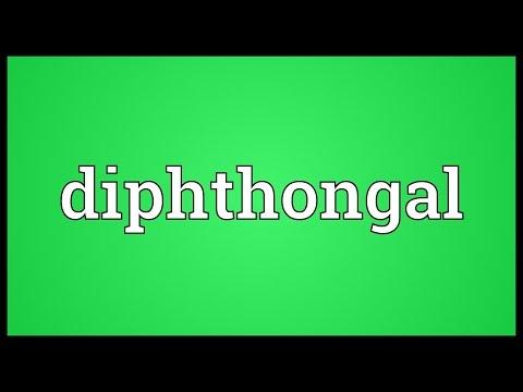 Header of diphthongal