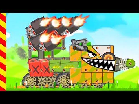 Танки против танков мультики для мальчиков. Мультики про войну. Фабрика стальных монстров.
