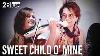2Blue | Sweet Child O' Mine, Guns N' Roses: Violin Cover | Slash, Duff McKagan, Axl Rose | Hard Rock