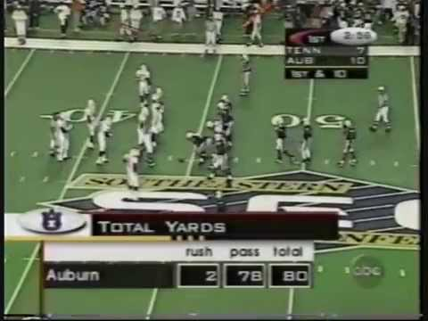 1997 SEC Championship Game Auburn vs Tennessee