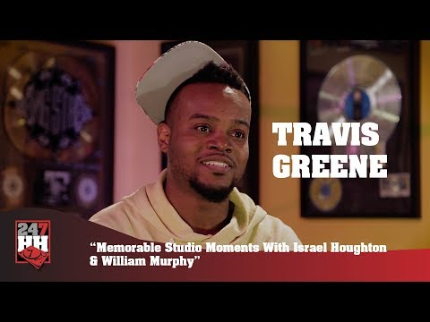 Travis Greene - Memorable Studio Moments With Israel Houghton & William Murphy (247HH Exclusive)