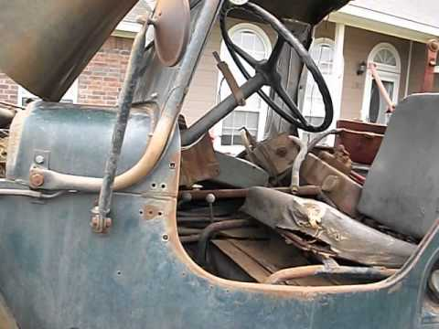 Willys Jeep For Sale >> 1948 CJ2A Willys Farm Jeep, Original Condition - YouTube