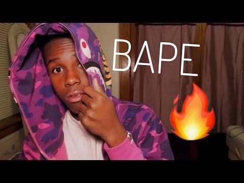 My new BAPE hoodie/jacket *HypeBeast*