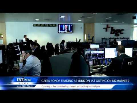 Greek Bonds Trading As Junk On 1st Outing on UK Markets