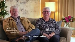 The Fullerton Hotel Sydney presents Fullerton Stories: Ian and Geraldine Rae