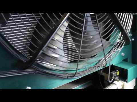 видео: Двухступенчатый компрессор