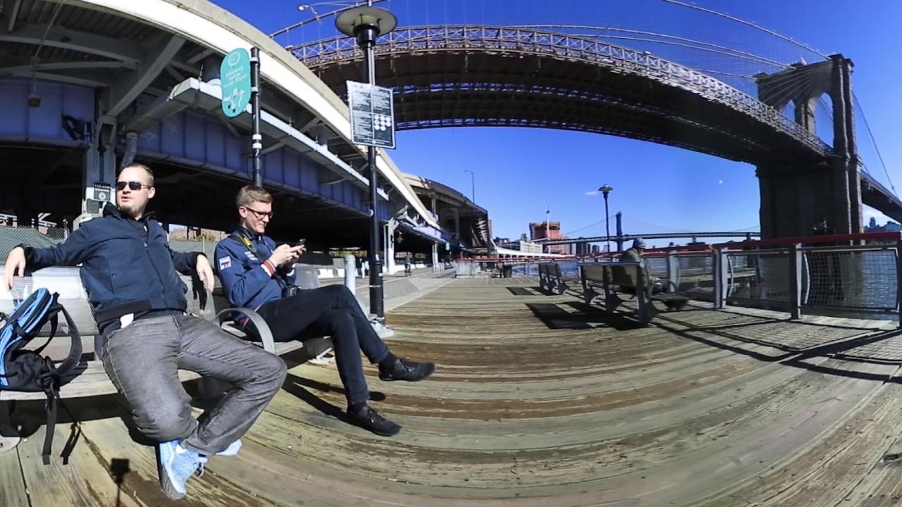 Nikon Keymission 360 vacation in Manhattan - YouTube