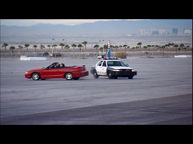 Las Vegas police chase attraction