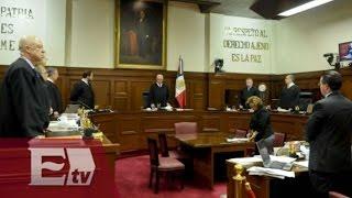 Sesión solemne en la Suprema Corte de Justicia de la Nación /  Yazmin Jalil