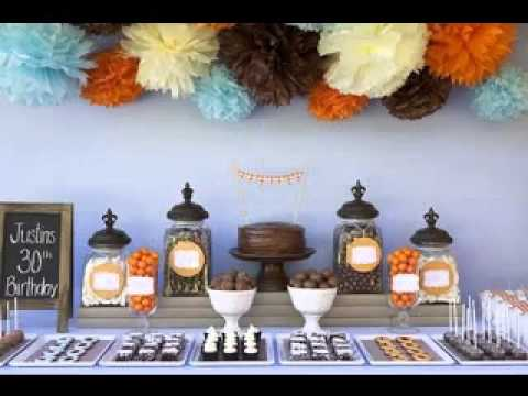 Fall birthday party decorations ideas - YouTube