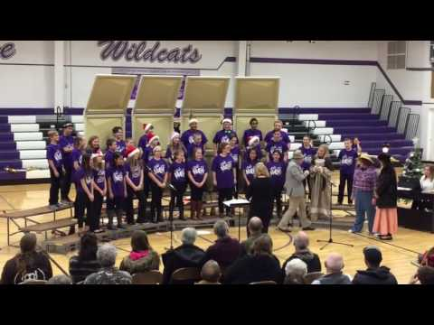 2016 La Farge Middle School Choir Holiday Song