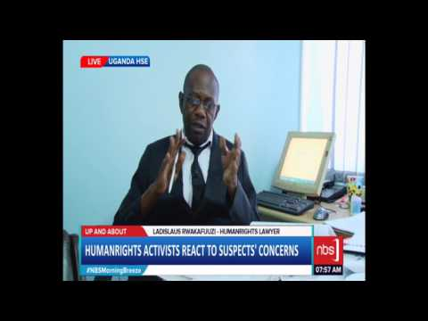 Lawyer Rwakafuzi  on the Alleged Torture of Suspects Connected to Murder of Kaweesi
