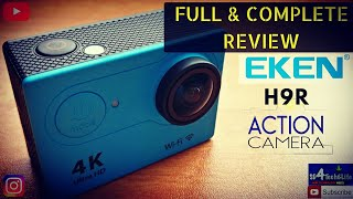 """EKEN H9R ACTION CAMERA """"FULL REVIEW"""" 