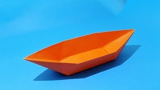 How To Make A Paper Boat That Floats - Origami Boat.