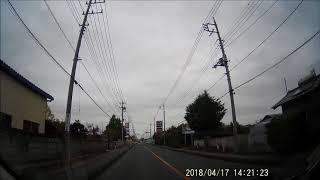 日中、県道で立小便をする人を発見しました。