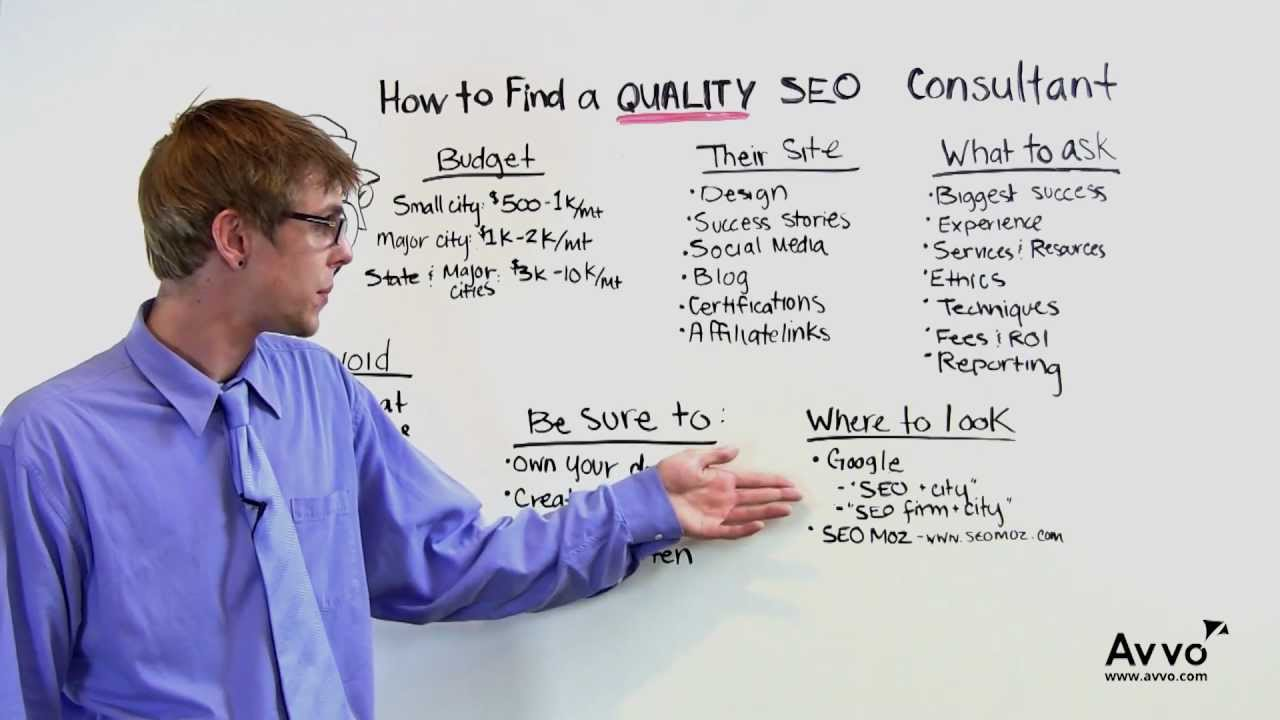 How to Find a Quality SEO Consultant