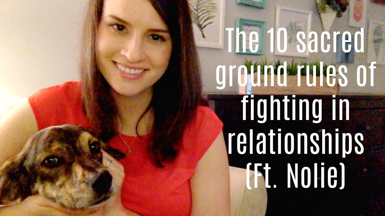 Download The 10 Ground Rules of Fighting With Your Partner