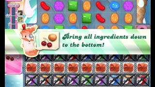 Candy Crush Saga Level 502 walkthrough (no boosters)