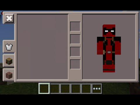 Minecraft PE Deadpool Skin Costume YouTube - Deadpool skins fur minecraft