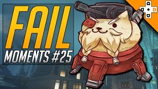 Overwatch Fail Moments #25 - Highlights Montage