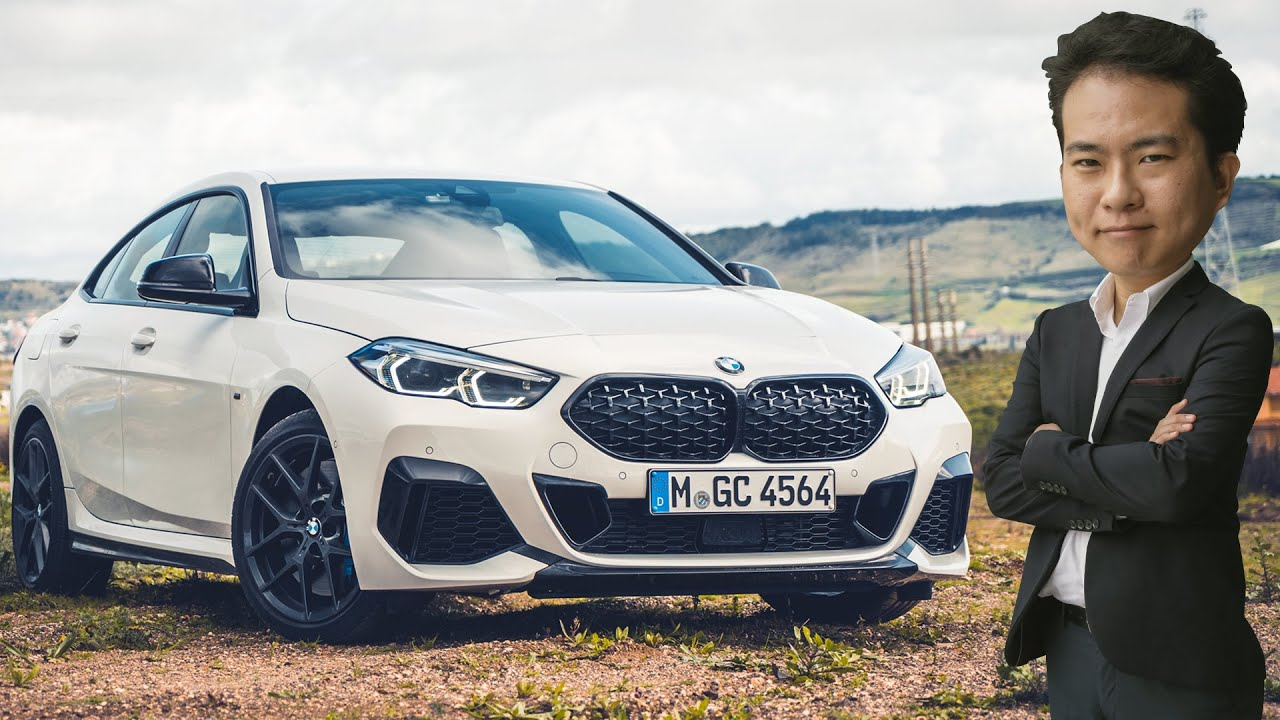 First Drive F44 Bmw 2 Series Gran Coupe In Lisbon Youtube