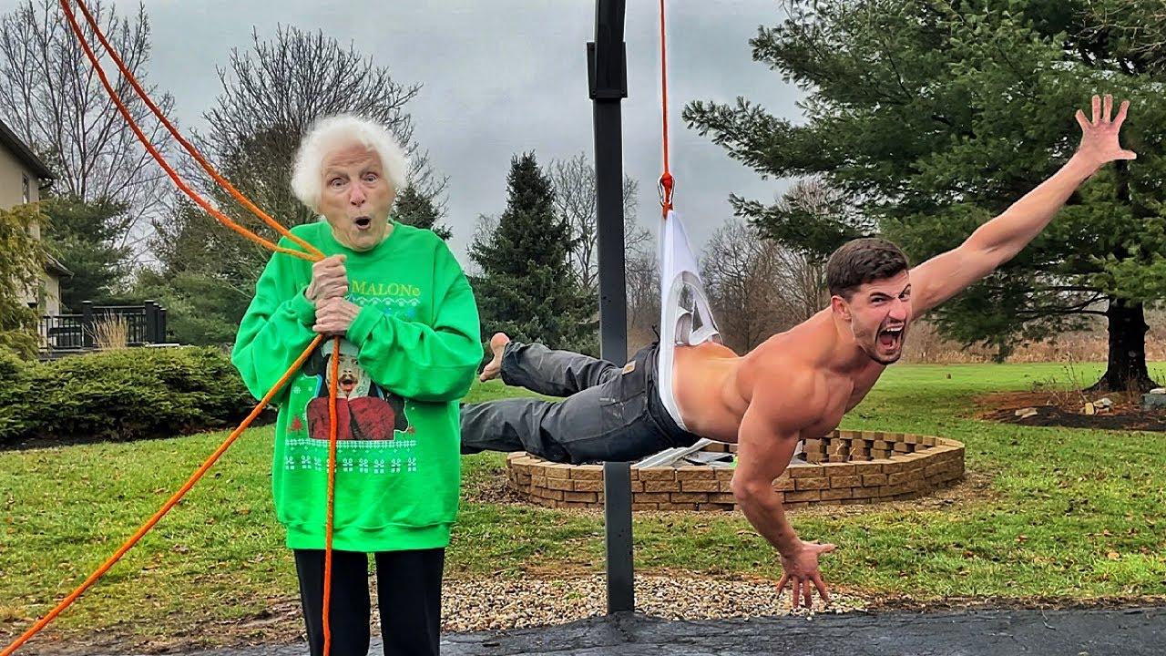 Grandma's Home Alone Self Defense Part 2 | Ross Smith