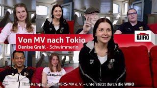 Von MV nach Tokio - Schwimmerin Denise Grahl