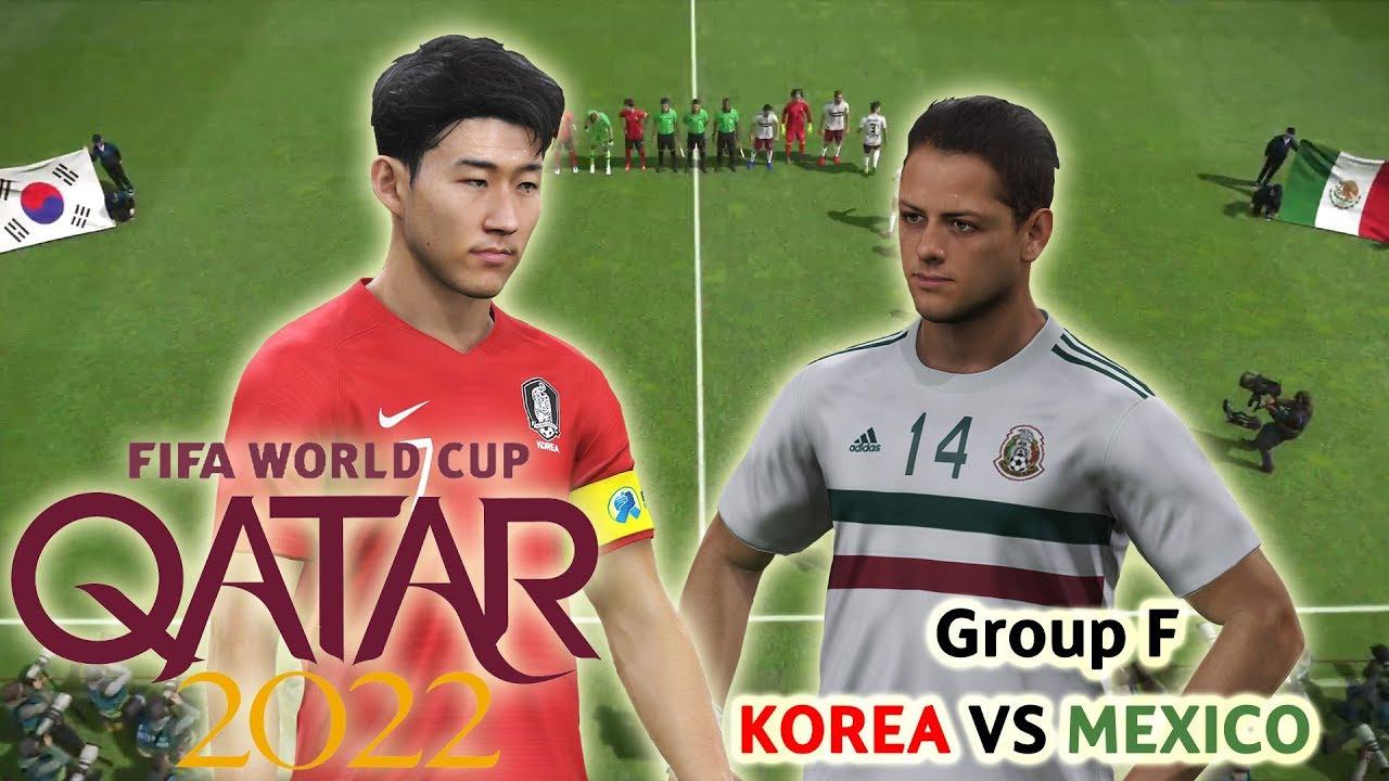 2022 카타르 월드컵 조별리그 2 대한민국 VS 멕시코 (PS4, PES 2019)