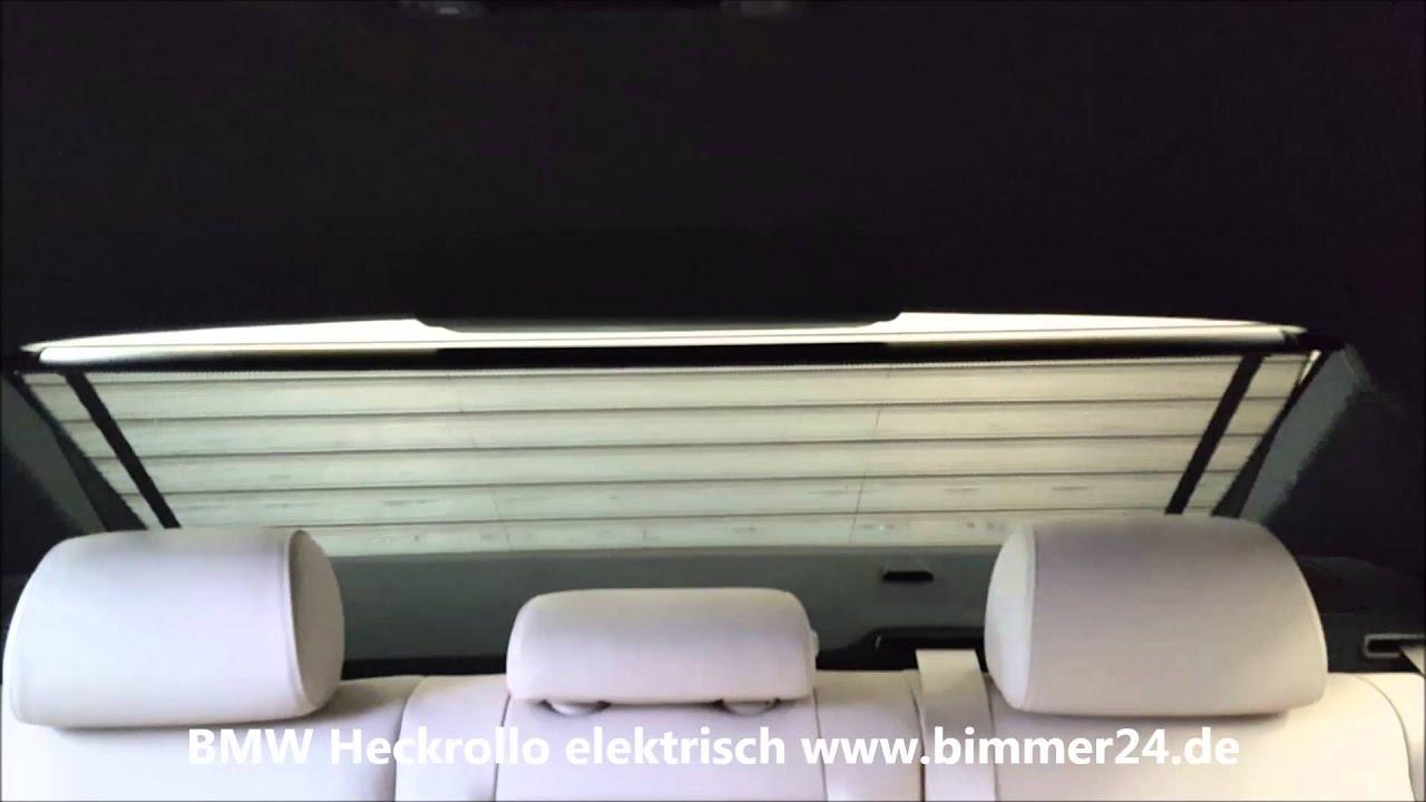 bmw e60 f01 f10 f13 elektrisches heckrollo rollo. Black Bedroom Furniture Sets. Home Design Ideas