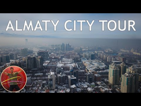 Almaty City Tour - Full Guided - Ep 204