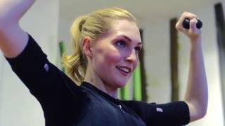 видео EMS тренировка в премиум фитнес-студии